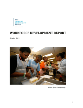 Workforce Development Report