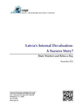 Latvia's Internal Devaluation: A Success Story?