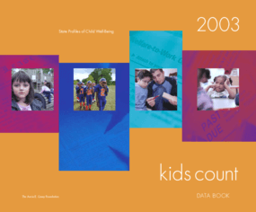 2003 KIDS COUNT Data Book