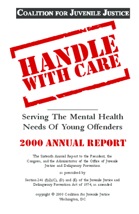 Handle With Care: Serving the Mental Health Needs of Young Offenders