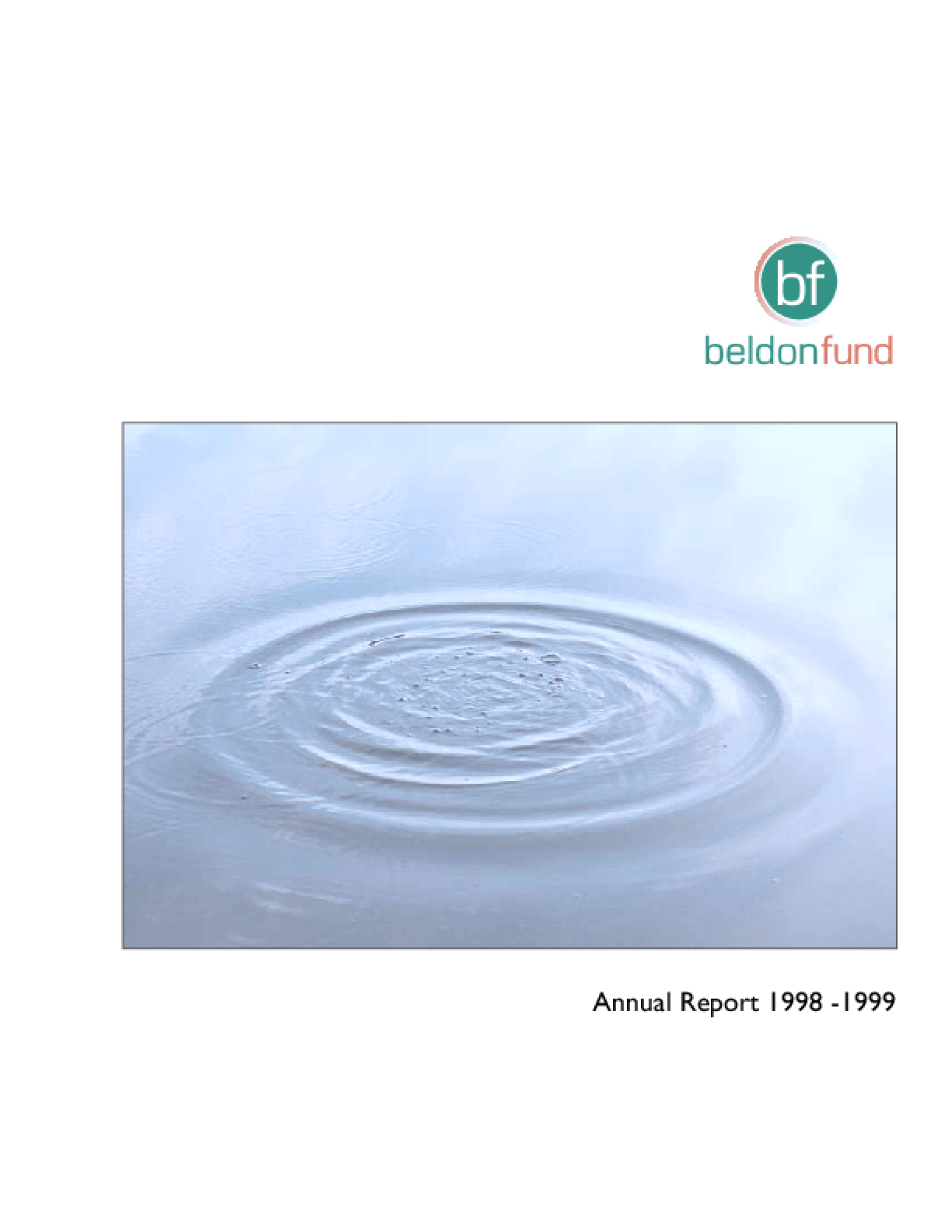 Beldon Fund - 1999 Annual Report