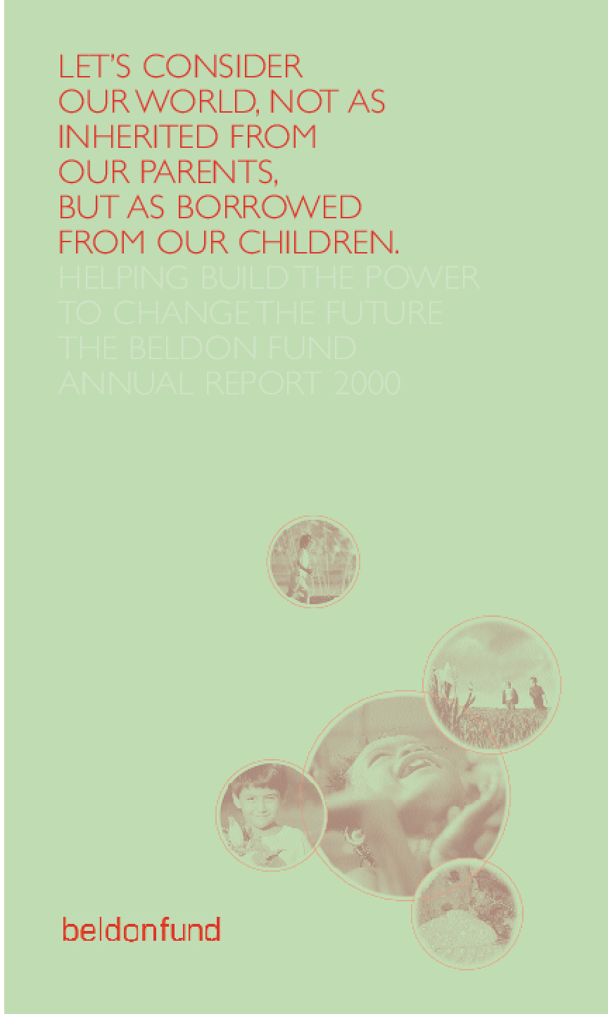Beldon Fund - 2000 Annual Report