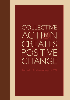Beldon Fund - 2001 Annual Report
