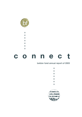 Beldon Fund - 2003 Annual Report