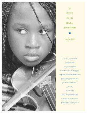 The Boston Foundation Arts Fund Report