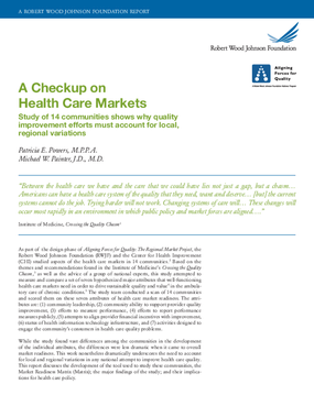A Checkup On Health Care Markets