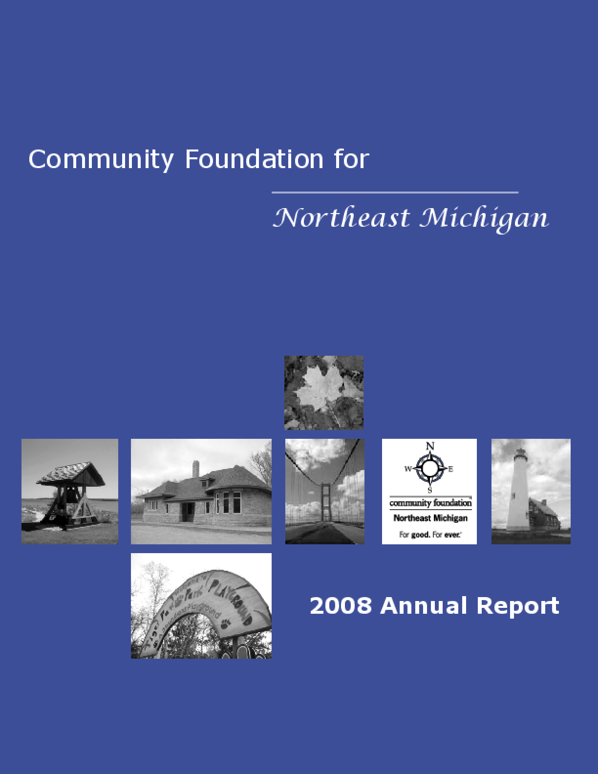 Community Foundation for Northeast Michigan - 2008 Annual Report