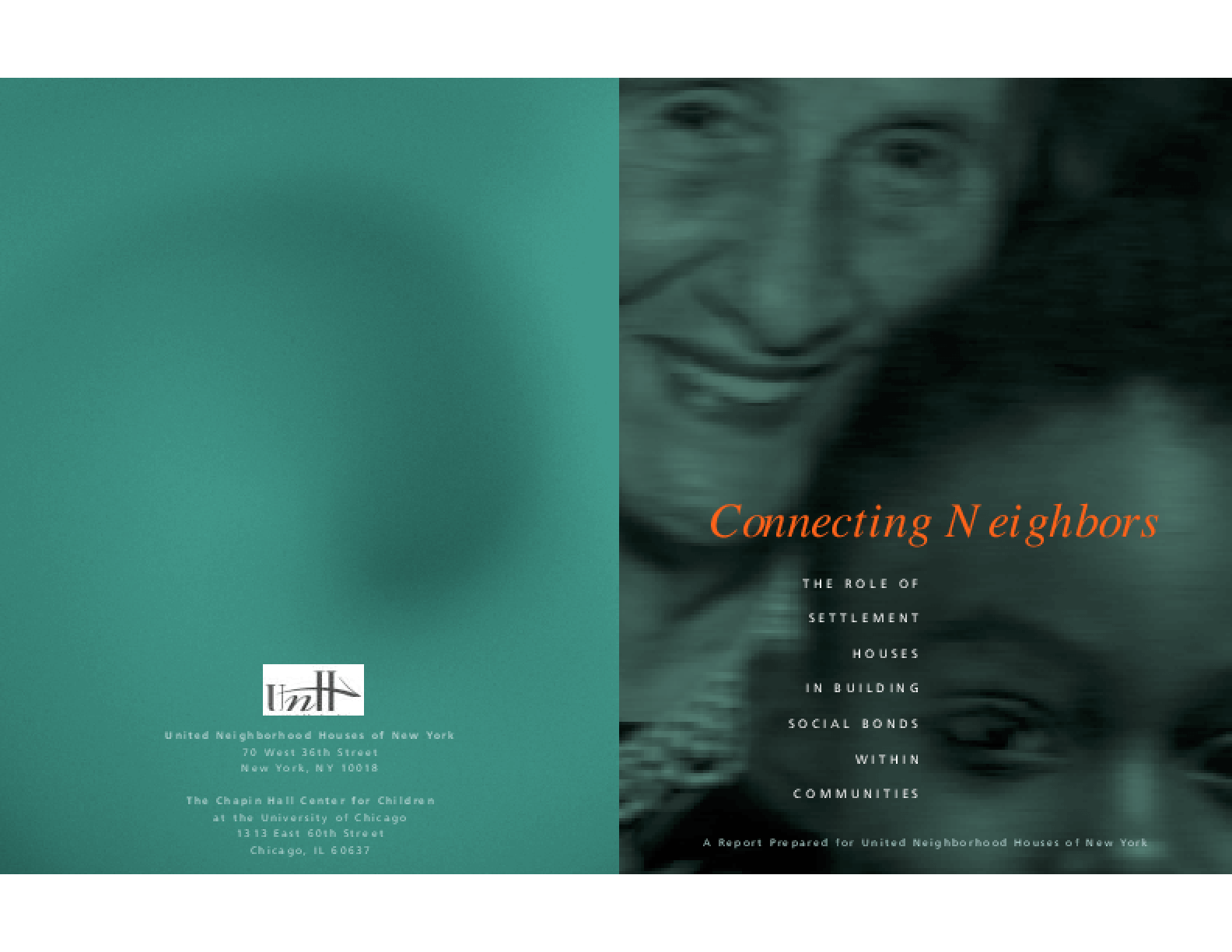 Connecting Neighbors: The Role of Settlement Houses in Building Social Bonds With Communities
