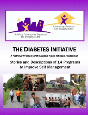 The Diabetes Initiative: Creative Community Strategies for Diabetes Care