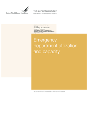 Emergency Department Utilization and Capacity