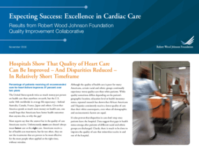 Expecting Success: Excellence in Cardiac Care Results From Robert Wood Johnson Foundation Quality Improvement Collaborative