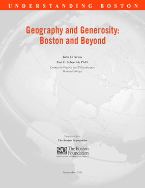 Geography and Generosity: Boston and Beyond
