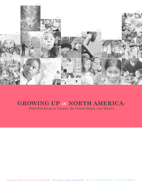 Growing Up in North America: Child Well-Being in Canada, the United States, and Mexico