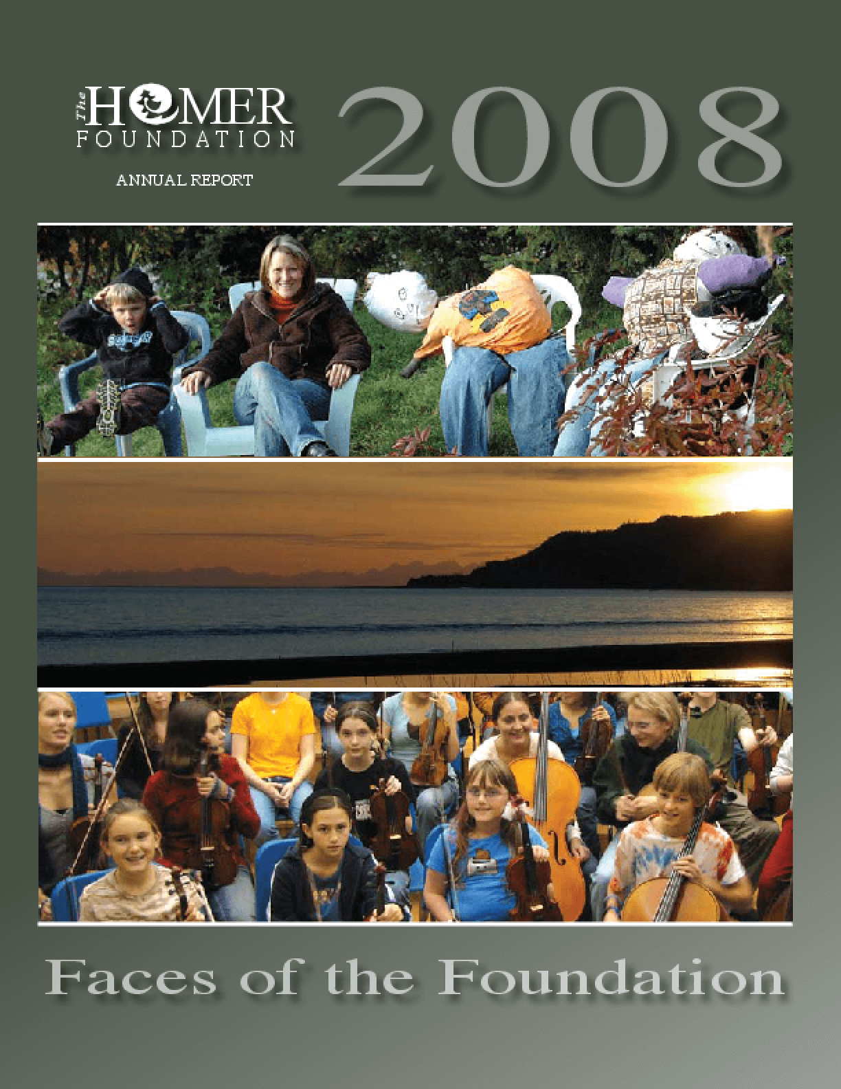 Homer Foundation - 2008 Annual Report