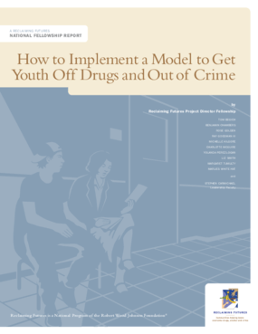 How to Implement a Model to Get Youth Off Drugs and Out of Crime