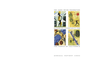 James Irvine Foundation - 2003 Annual Report