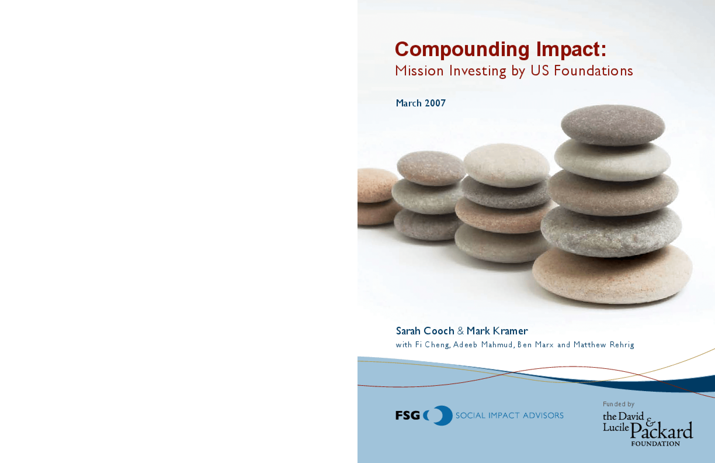 Compounding Impact: Mission Investing by U.S. Foundations