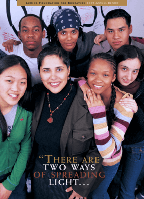 Lumina Foundation for Education - 2002 Annual Report