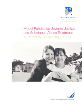 Model Policies for Juvenile Justice and Substance Abuse Treatment