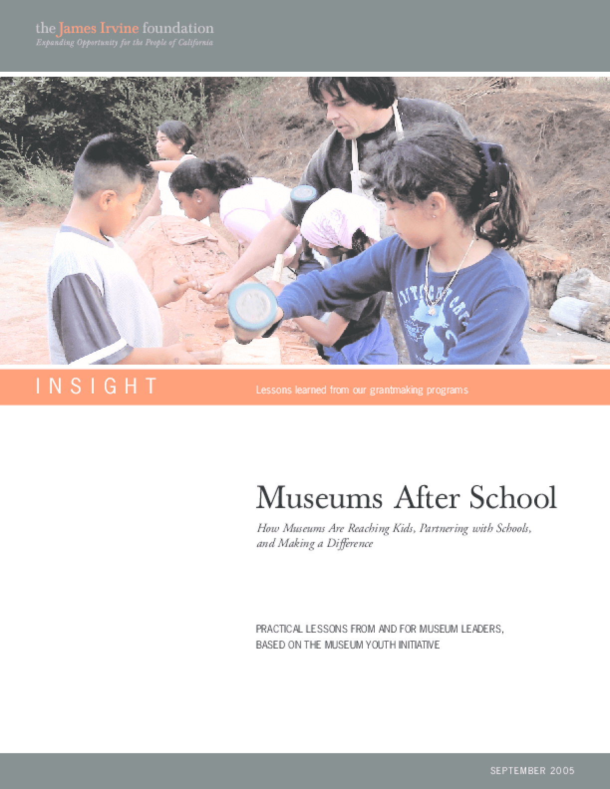 Museums After School: How Museums Are Reaching Kids, Partnering With Schools, and Making a Difference