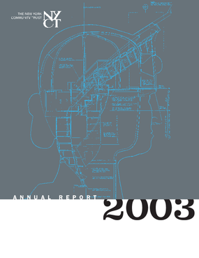 New York Community Trust - 2003 Annual Report