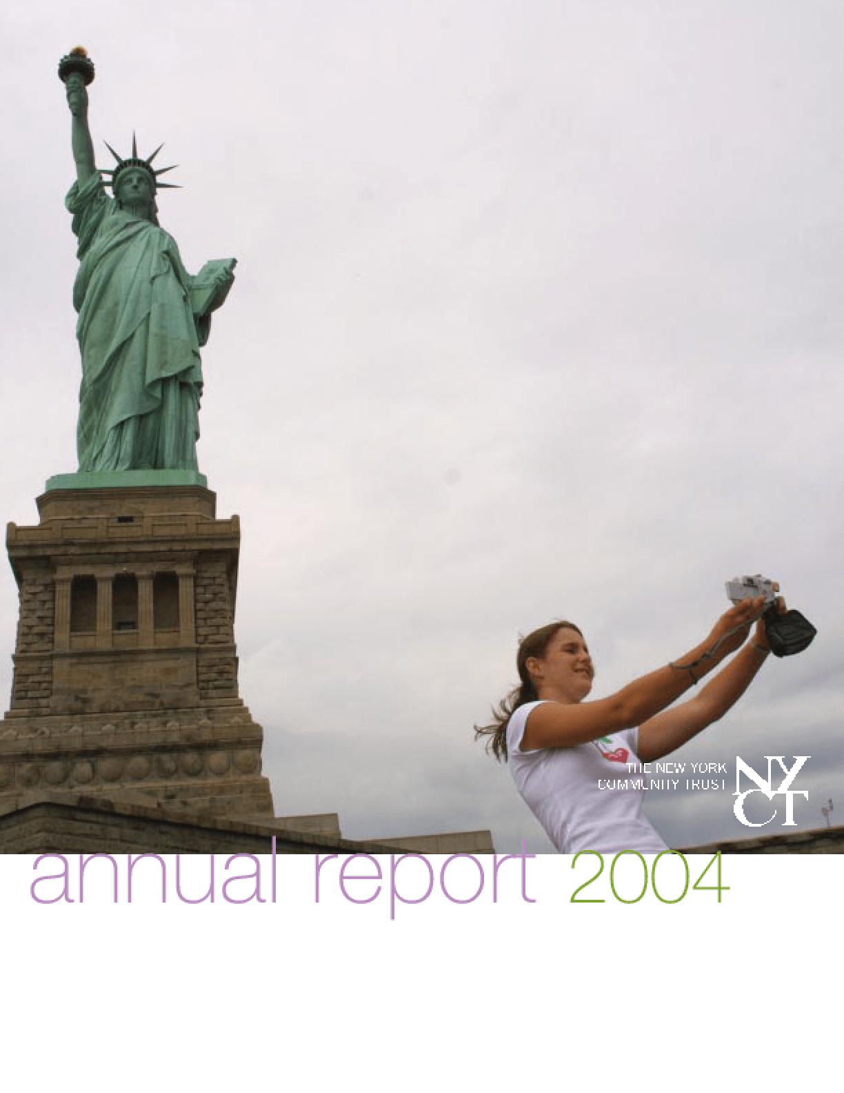 New York Community Trust - 2004 Annual Report