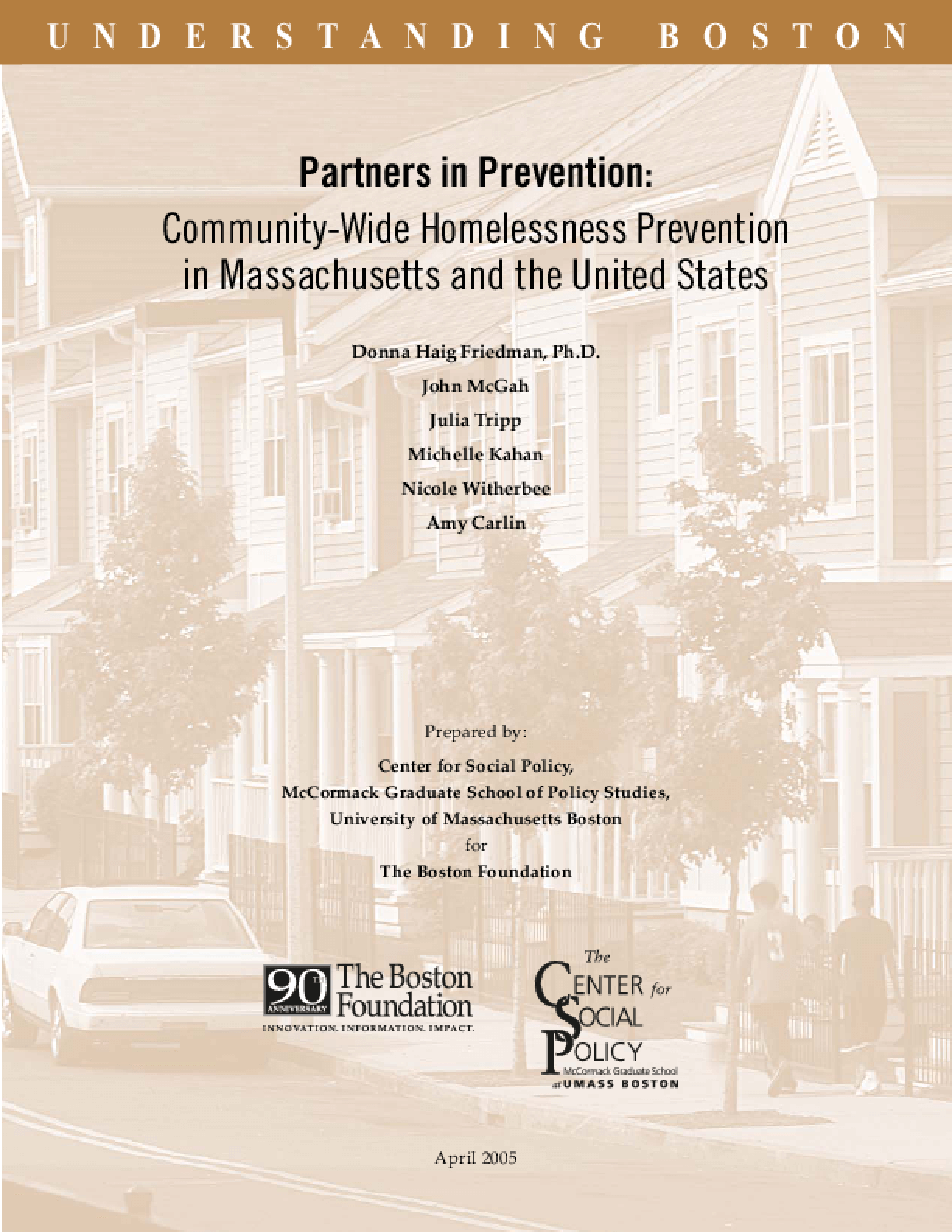 Partners in Prevention: Community-Wide Homelessness Prevention in Massachusetts and the United States