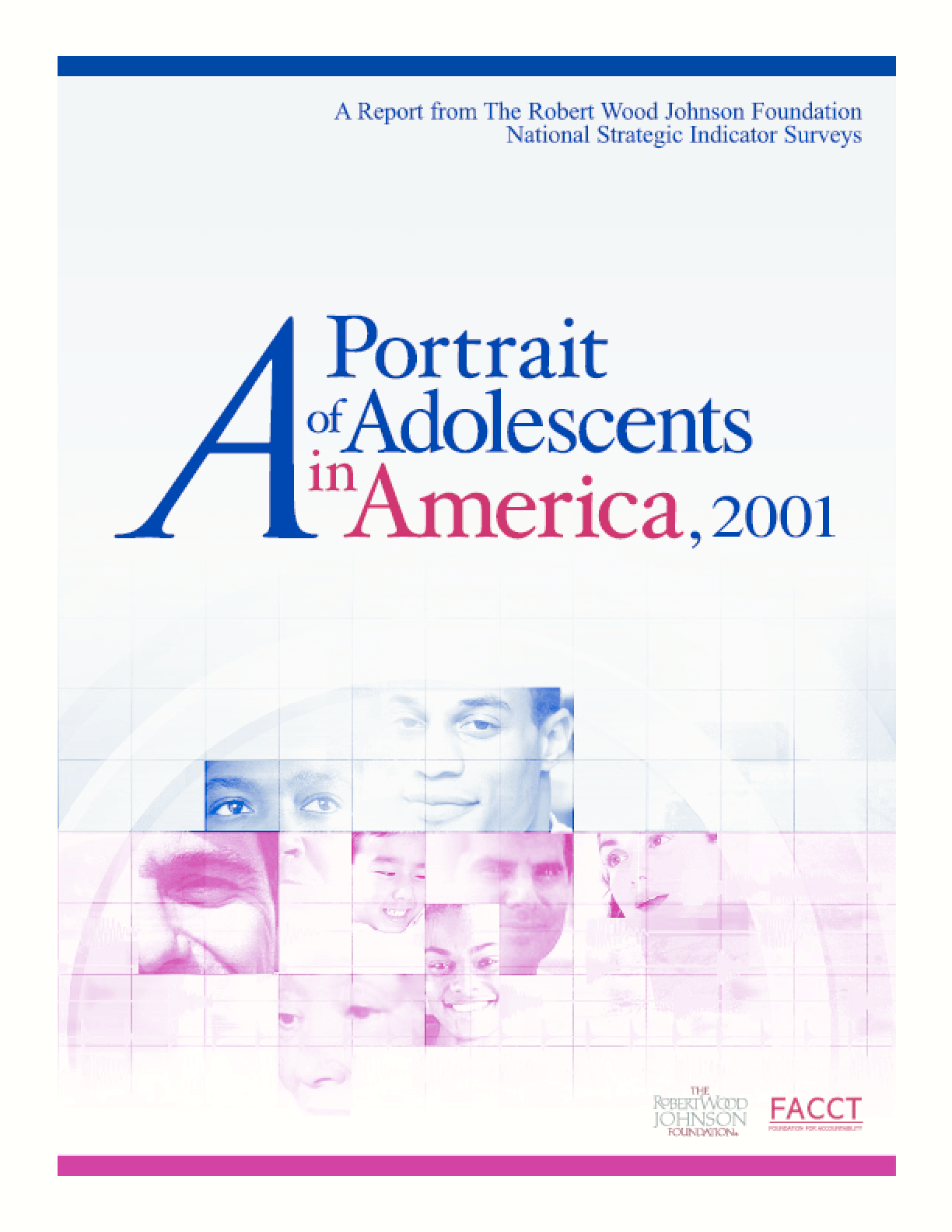 A Portrait of Adolescents in America, 2001