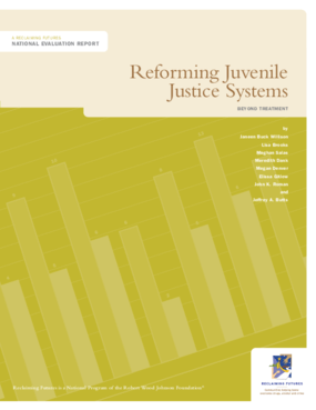 Reforming Juvenile Justice Systems: Beyond Treatment