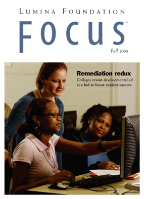 Remediation Redux: Colleges Revisit Developmental Ed in a Bid to Boost Student Success