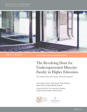 The Revolving Door for Underrepresented Minority Faculty in Higher Education