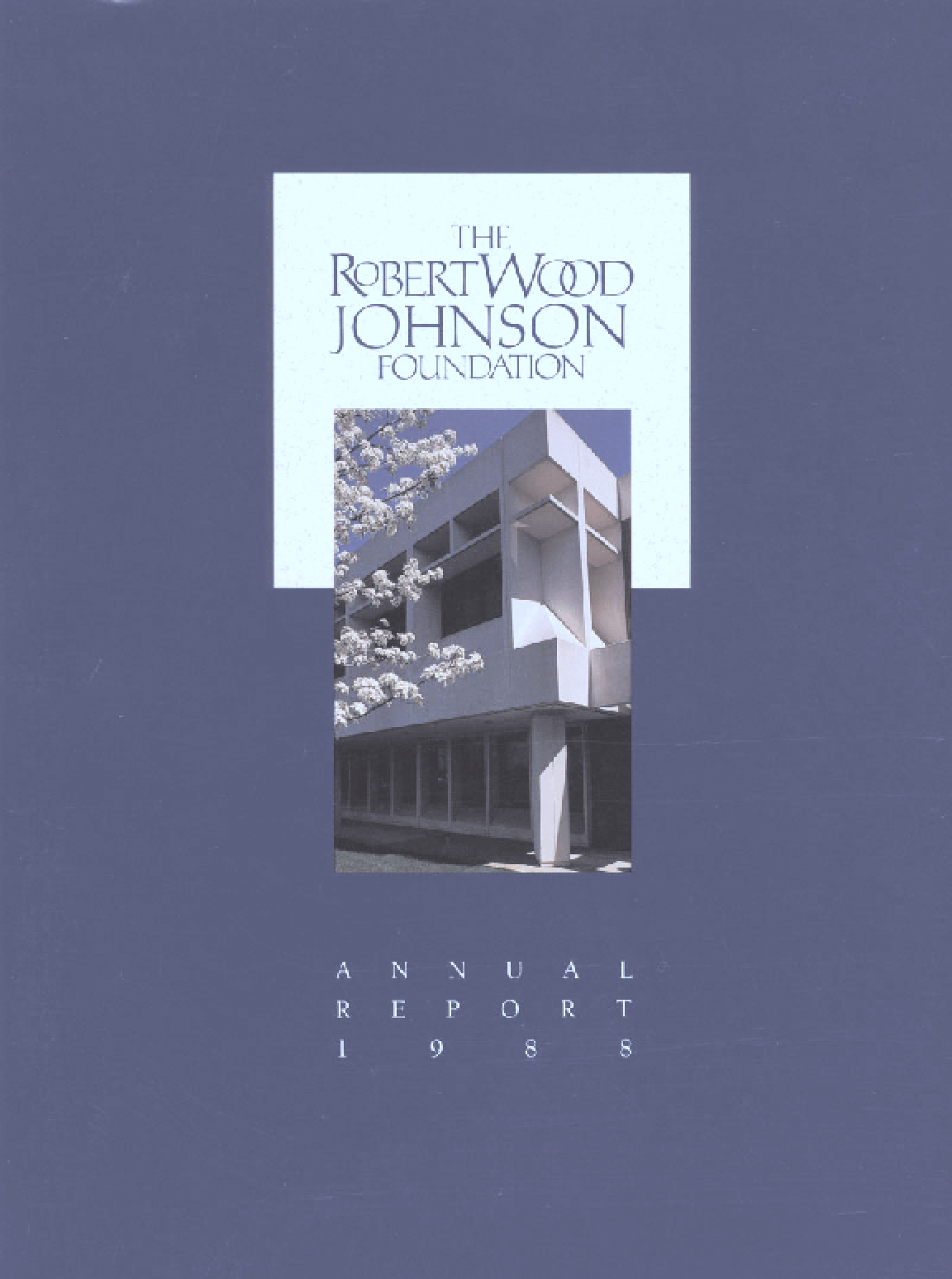 Robert Wood Johnson Foundation - 1988 Annual Report