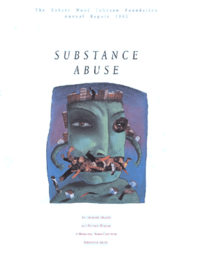Robert Wood Johnson Foundation - 1992 Annual Report: Substance Abuse