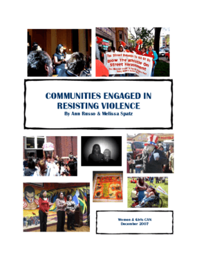 Communities Engaged in Resisting Violence