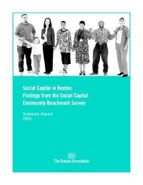 Social Capital in Boston: Findings From the Social Capital Community Benchmark Survey