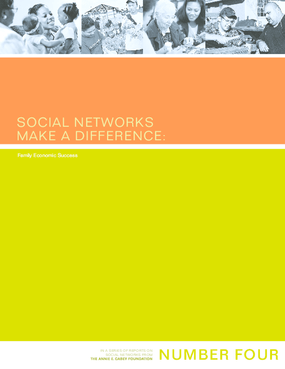 Social Networks Make a Difference: Family Economic Success