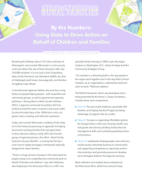 Strengthening Rural Families: By the Numbers: Using Data to Drive Action on Behalf of Children and Families