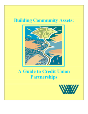 Building Community Assets: A Guide to Credit Union Partnerships
