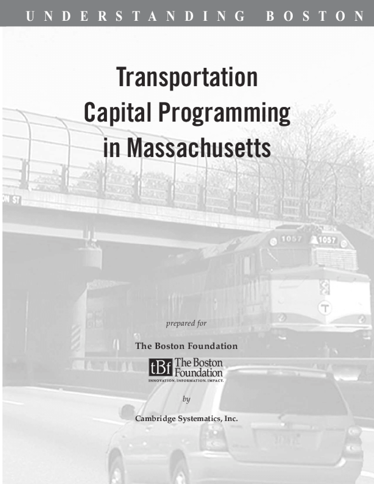 Transportation Capital Programming in Massachusetts