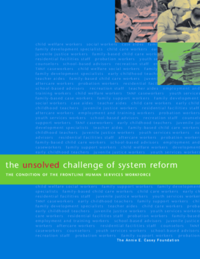 The Unsolved Challenge of System Reform: The Condition of the Frontline Human Services Workforce