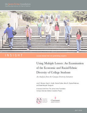 Using Multiple Lenses: An Examination of the Economic and Racial/Ethnic Diversity of College Students