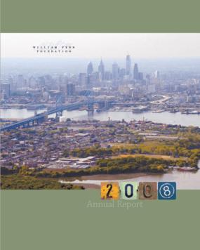 William Penn Foundation - 2008 Annual Report