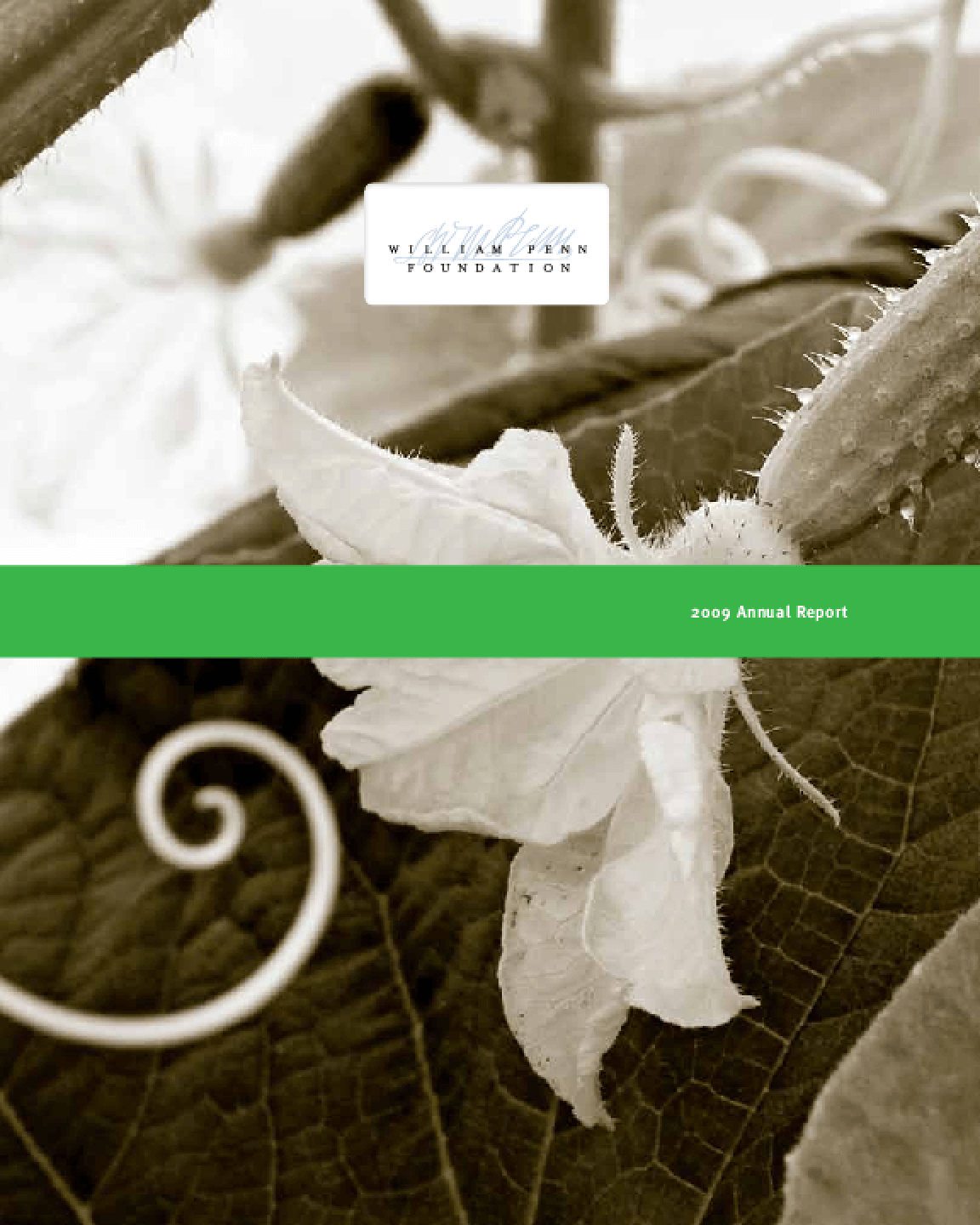 William Penn Foundation - 2009 Annual Report