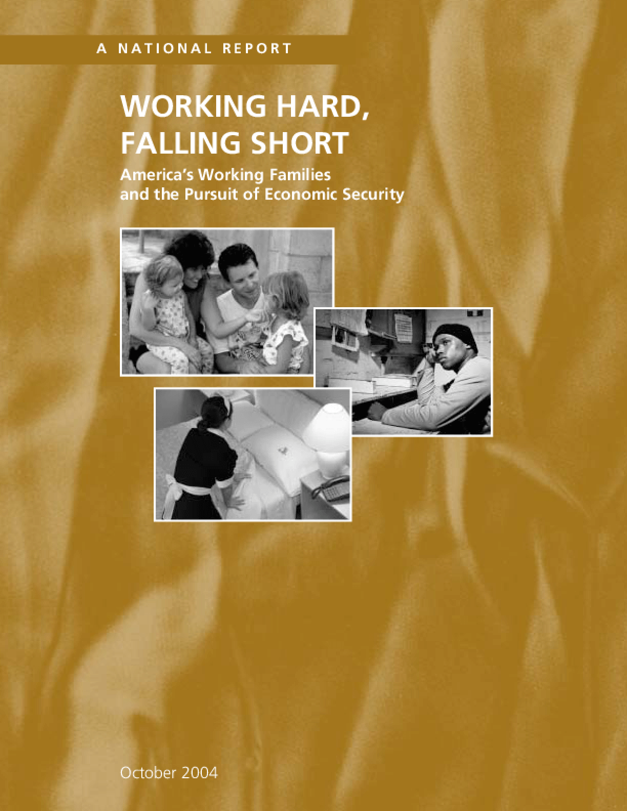 Working Hard, Falling Short: America's Working Families and the Pursuit of Economic Security