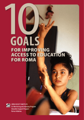10 Goals for Improving Access to Education for Roma