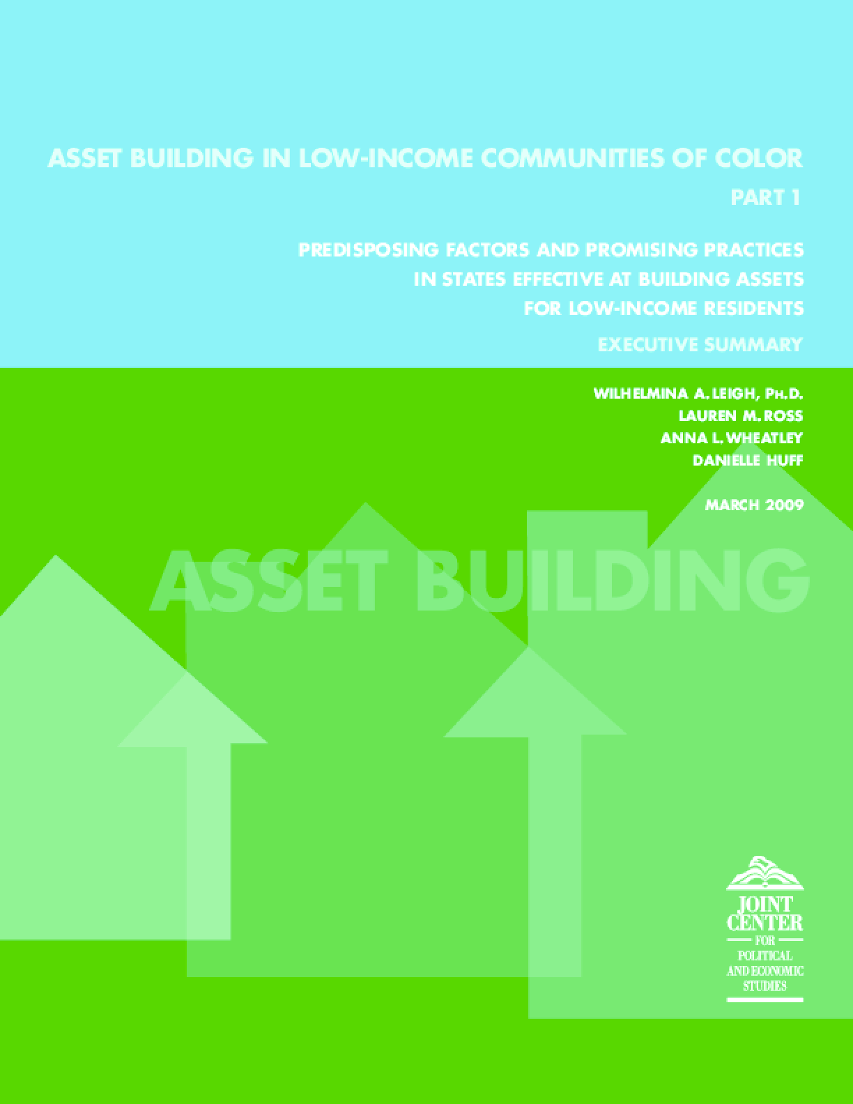 Asset Building in Low-Income Communities of Color, Part 1