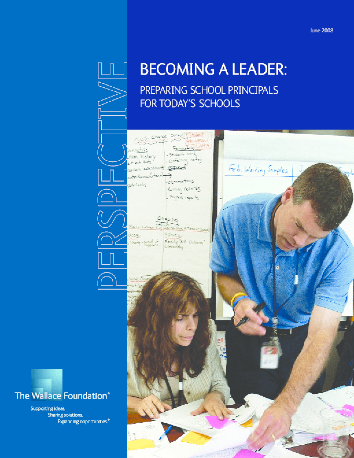 Becoming a Leader: Preparing School Principals for Today's Schools