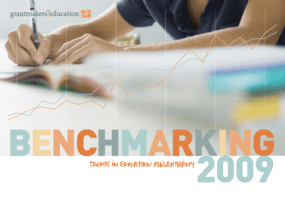 Benchmarking 2009: Trends in Education Philanthropy