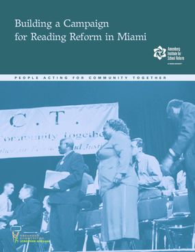 Building a Campaign for Reading Reform in Miami