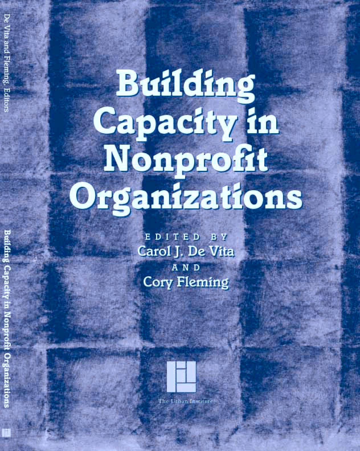 Building Capacity in Nonprofit Organizations